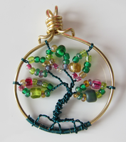 Mini Tree of Life Pendant Version Two by madewithloveL