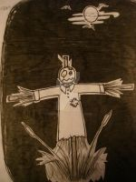 Alone Scarecrow by trepas