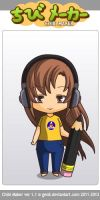 ChibiMaker Older me by tigerclaw64