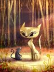 like mouse and cat by BenJogan