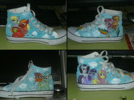 My Little Pony shoes by sceptile123