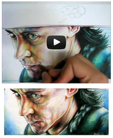 Loki drawing on Youtube by EatToast