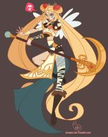 Character Design - Punk Sailor Moon by MeoMai