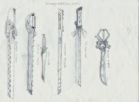 smooke's swords by autobot0d41r