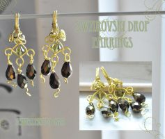 Swarovski Drop Earrings by tanyquil