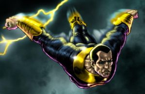 Black Adam color attempt by bushiboy
