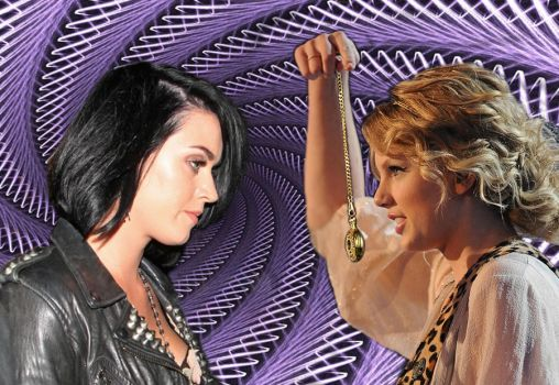 Taylor Swift Hypnotizes Katy Perry by theeyeshavehills