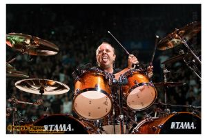 METALLICA - Lars - 2009 by MrSyn