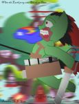 Attack on Titan pony by TheLittleRaven