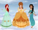 Historically Accurate Disney Princesses 2 by M-Mannering