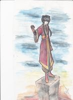 Mai Water Color Pencil by demystical