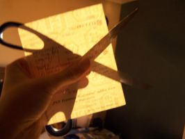 ticket and scissors by merenre