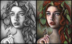 Rowan (Draw2Paint) by MichaelShapcott