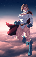 Powergirl by ZigEnfruke