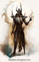 Dark Eldar: Archon 2 by Beckjann