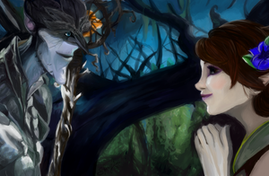 Bog and Marianne Lighting and Color Study by Stormytitan