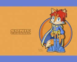 Sonic Channel Elias Wallpaper by E-122-Psi
