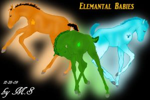Elemental Babies by TallyBaby13