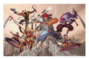 Thundercats, assemble! by Uncle-Gus