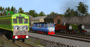 Daisy Doesn't Approve of the New Diesel. by MH1994