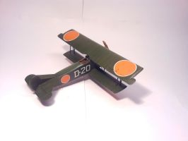 Dutch Fokker D.VII MLD 005 by BlokkStox