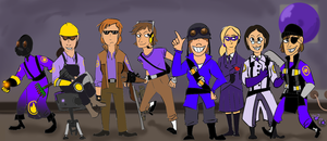 Meet the -Purple- Team by immessedup
