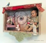 Assemblage: Doll Shadow Box by bugatha1