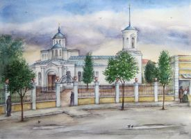 The Orthodox Church by pranDIV