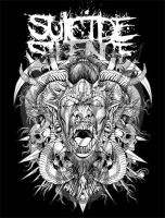 WIP SUICIDE SILENCE by rheen