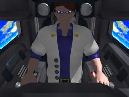 Cockpit View with Pilot by Level60Healbot