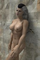 Sindel nude by DragonLord720
