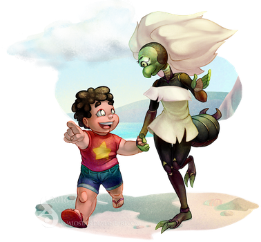 Steven and Centi by Analostan