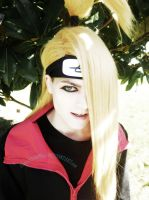 Deidara cosplay by DominoPunkyHeart