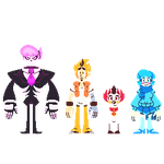 Mystery Skulls: Ghost Sprites by CitrusSqueeze