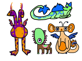 Cheap and Ugly Monster Adopts by Saejay