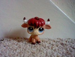 LPS RARE Special Edition Bull by ButchxButtercup1996