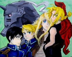 Full on FullMetal Alchemist by Loshyien