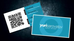 New business card by Yurik86
