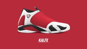 Air Jordan 14 'Carmine' by BBoyKai91