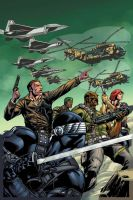 G.I.Joe 13 Variant cover color by TheBob74
