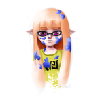 Inkling Girl by ClaireXFerron