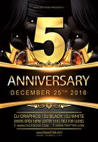 Anniversary-Flyer by Styleflyers