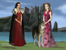 Heather and Willow game of thrones by Colleen15
