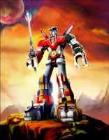 Voltron: United and Drawn by puggdogg