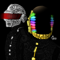 Daft Punk by IrregularCharlie