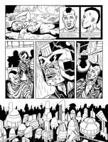 Judge Dredd - Cycle Of Violence Page 4 by allistermac
