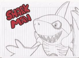 SharkMan by NalaTheWarrior