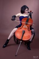 The Cellist by BlackRoomPhoto