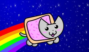 Nyan Cat by Mrgw-productions