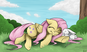 Afternoon nap by Quiell